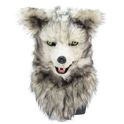 Moving mask Wolf 1013010 realistic wolf costume movable mouth Free Shiping Japan