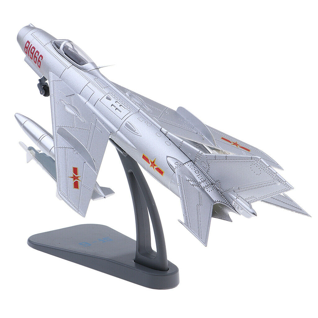 El ultimo 2018 1 72 J 6 granjeros Fighter Aircraft modelo, PLAAF Air Air Air Force, 1964 con soporte  punto de venta