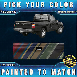 Painted To Match Rear Tailgate Replacement for 1995-2004 Toyota Tacoma Pickup