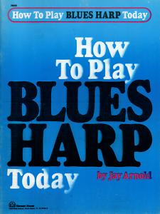 Learn-to-Play-HARMONICA-Tutor-Music-Book-Blues-Diatonic-Mouth-Organ-Shop-Soiled