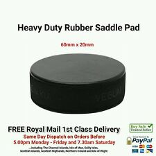 5x Trolley Jack / Axle Stand Rubber Pad Classic Car - ( Ice Hockey Puck )