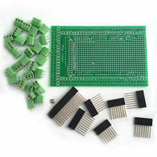 Pcb Prototype Screw Terminal Block Shield Board Kit For Arduino Mega 2560 R3 C
