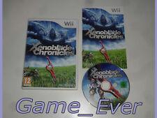 XENOBLADE CHRONICLES  - Wii / Wii U - POCHETTE FR - JEU FR NL ENG DE
