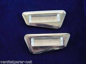 1-Paar-Einlassgriffe-50er-Jahre-Design-Schubladengriff-Aluminium-Moebelgriff