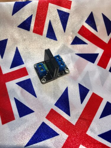⭐ ⭐ 5v 1 Channel OMRON SSR G3MB-202P Solid State Relay Module For Arduino UK ⭐