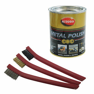 autosol solvol chrome metal cleaner polish 750ml tin. Black Bedroom Furniture Sets. Home Design Ideas