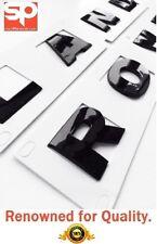 LAND ROVER DEFENDER BLACK 3D BONNET LETTERING LETTERS DISCOVERY 3 4 FREELANDER
