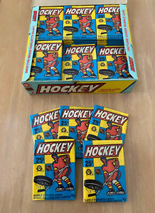 VINTAGE-1983-84-TOPPS-OPEE-CHEE-NHL-HOCKEY-CARDS-UNOPENED-WAX-PACK-From-BBCE-BOX