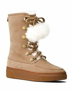 Michael-Kors-Womens-Juno-Lace-Up-Boots-Dk-Khaki-Seuede