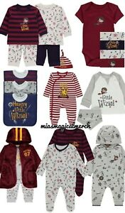 Brand-New-Baby-Boy-039-s-Harry-Potter-Little-Wizard-Clothing-8-To-Choose-From