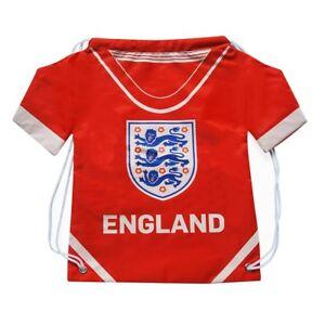 d4e877e251538 England FA Official Football Gift 3 Lions Sports Kit Shirt Gym Bag ...
