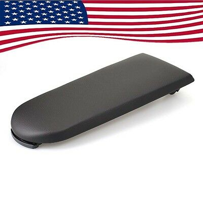 New Black Leather Center Console Latch Armrest Cover for VW GOLF JETTA MK4 98-04