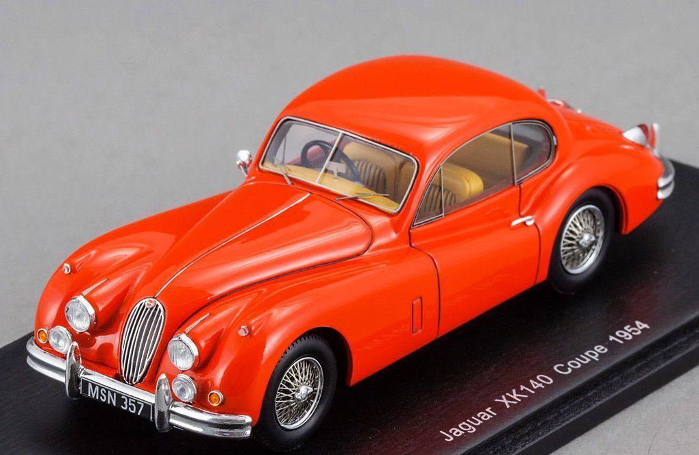 Jaguar XK140 Coupe 1959 rosso Spark 1:43 S2113
