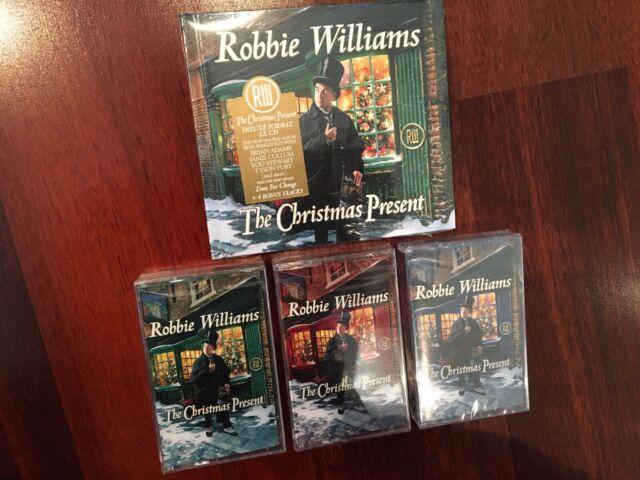 ROBBIE WILLIAMS 'THE CHRISTMAS PRESENT' DELUXE CD & 3 x CASSETTE SET MINT LTD ED | eBay