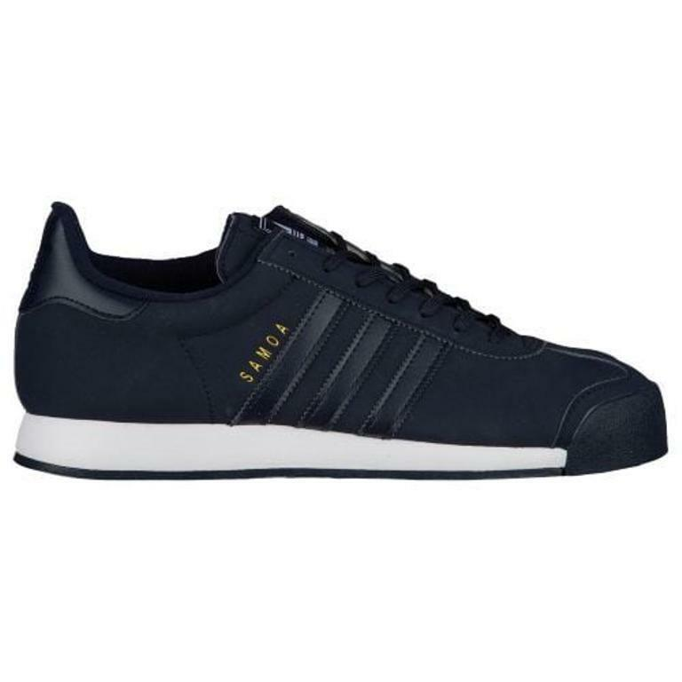 ADIDAS ORIGINALS SAMOA NOBLE INK/WHITE /GOLD CASUAL SHOES MEN'S SELECT YOUR SIZE