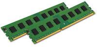 KINGSTON 2x 8GB 16GB PC RAM Speicher DIMM DDR3 1600 Mhz KVR16LN11/8 PC3L-12800U
