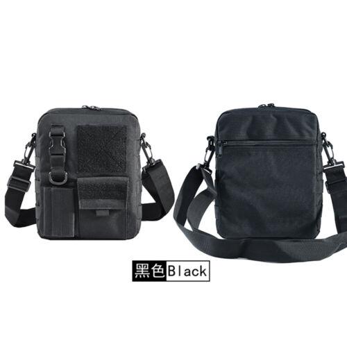 Tactical camouflage shoulder bag adjustable strap D buckle Climbing Fishing Bag