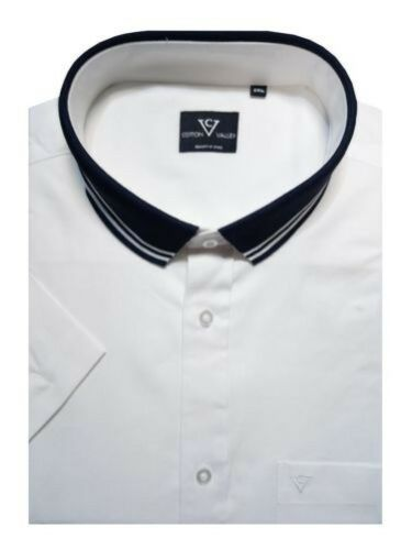 Collo Valley Oxford Con Cotone Maglia In Camicia 14332 Puro Cotton UnfqW11