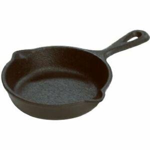 Cast-Iron-Mini-Poelon-ufs-Camping-Assaisonnement-Pan-Cuisson-Poele-petite-Cook-3-5