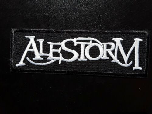 ALESTORM SCOTTISH HEAVY PIRATE PUNK ROCK MUSIC BAND EMBROIDERED PATCH UK SELLER