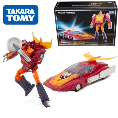 Masterpiece MP-28 Hot Rodimus Cybertron Cavalier Transformers Action Figure KO