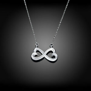 Silver-Infinity-w-14k-yellow-gold-Heart-necklace