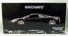 MINICHAMPS 1/18 - 110 133024 MCLAREN MP4-12C 2011 DIECAST MODEL IN MATT GREY