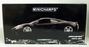 MINICHAMPS-1-18-110-133024-MCLAREN-MP4-12C-2011-DIECAST-MODEL-IN-MATT-GREY
