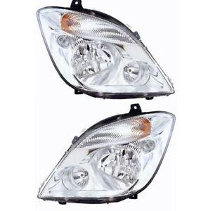 NEW-HEAD-LIGHT-LAMP-PAIR-W-O-FOG-LIGHT-for-MERCEDES-BENZ-SPRINTER-2006-2013