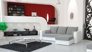 Image Is Loading Corner Sofa Bed 034 Olivia Faux Leather