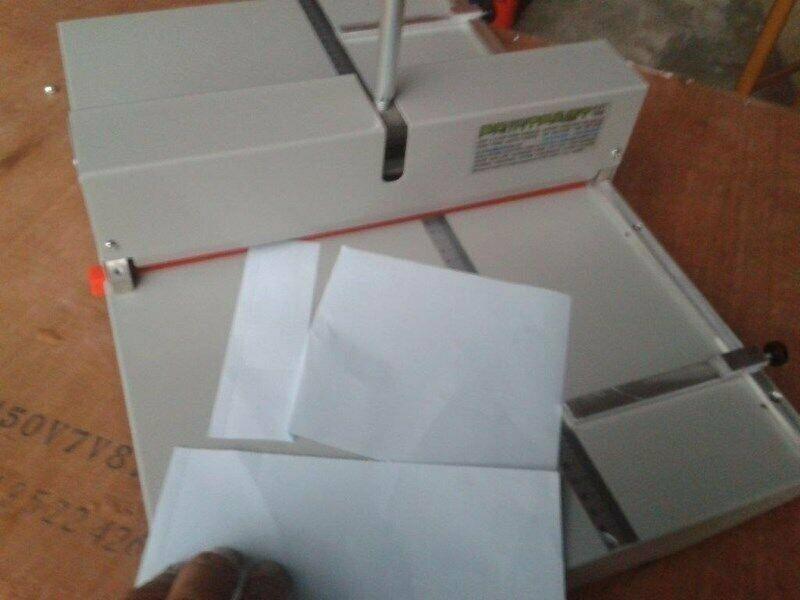 Perforating Machine New PF350M Scoring & Perforating 2 in 1 Invoice books, Scores menus, Folders