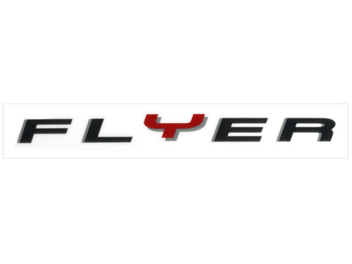 Schriftzug Dekor Aufkleber FLYER eBike Elektrofahrrad Rahmen C T L Serie