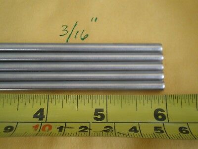 "3//16/"" 4.88MM. STAINLESS STEEL ROUND ROD 304 5 PCS X 6/"" LONG .192/"""