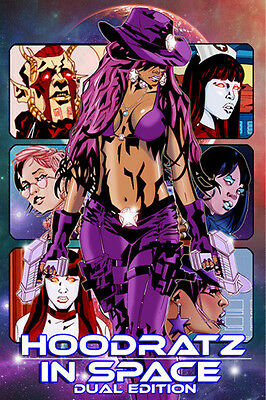 NEW! HOODRATZ IN SPACE DUAL EDITION Signed By Erik Reeves
