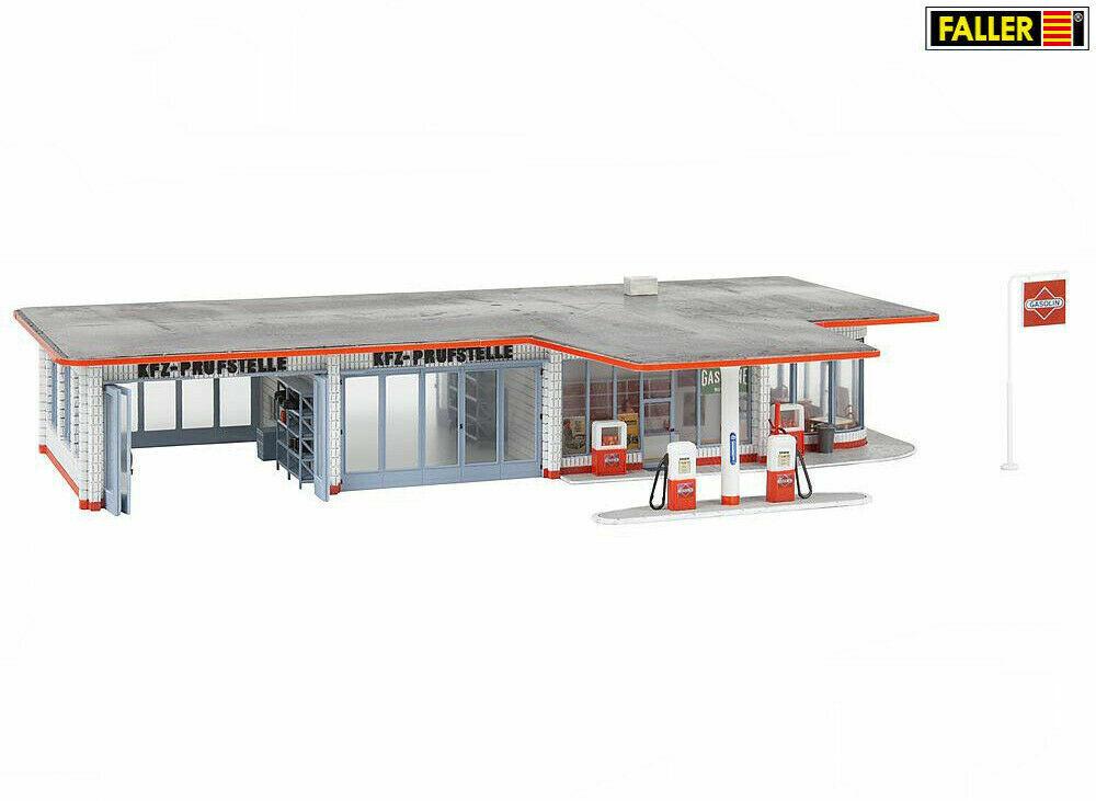 Tankstelle   Bausatz Neuware Faller H0 131369