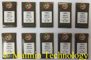 100 organe Titane HOME Machine à broder Aiguilles 90//14 Sharp 15X1 PD