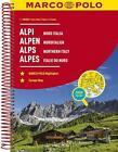 MARCO POLO Reiseatlas Alpen, Norditalien 1:300 000 (2017, Taschenbuch)