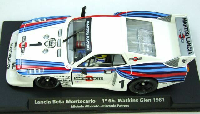 GB30 FLY CAR MODEL Lancia Beta Montecarlo Martini 6hr Watkins Glen 1 32 slot car