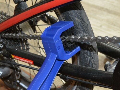 New Motorcycle Bicycle Cleaning Brush Chains Crankset Tooths Wheel Tool Cleaner