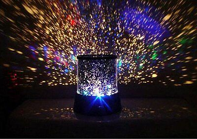 Romantic Sky Star Master Night Light Projector LED Lamp Master Children Kid Gift