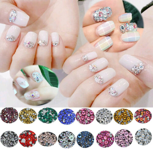 10000 pcs High Quality Rhinestone Resin Crystal Flat Back Gems Nail Art Craft