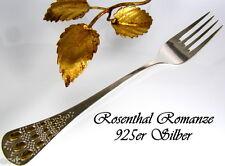 Rosenthal Romanze - Vorspeisegabel - 925er Silber - Björn Wiinblad - Mehrere