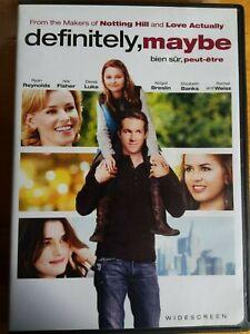 Definitely-Maybe-DVD-2009-Widescreen-Ryan-Reynolds-Movie-Film-Family-Time