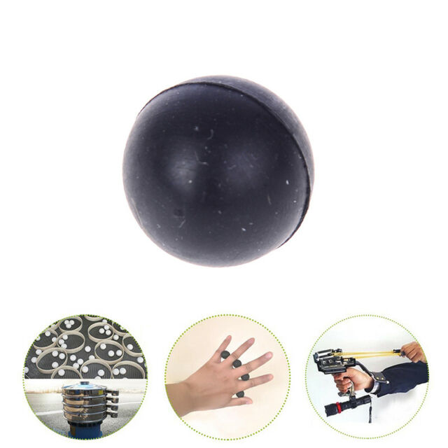 1x black massage ball spiky trigger point relief muscle pain stress peanut ballQ