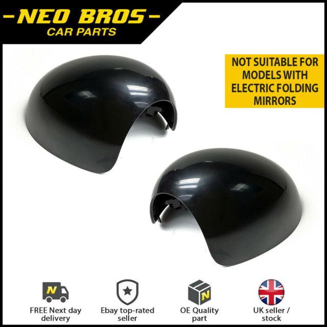 Pair Door Wing Mirror Cover Casings for Mini R55 R56 R57 R58 R59 R61 Left Right