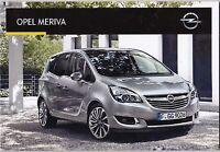 Opel Meriva - Catalogue Katalog Sales Brochure Prospectus 2016 - 50 Pages - Neuf