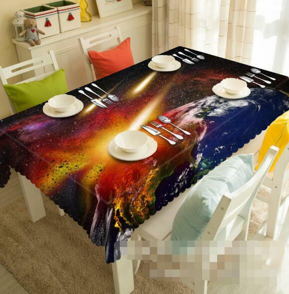 3D Light 358 Tablecloth Table Cover Cloth Birthday Party Event AJ WALLPAPER AU