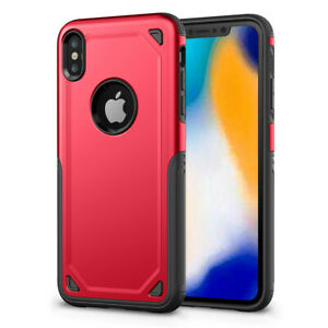 For Apple iPhone X XR XS MAX Shockproof Protective Rugged Defender Case Cover