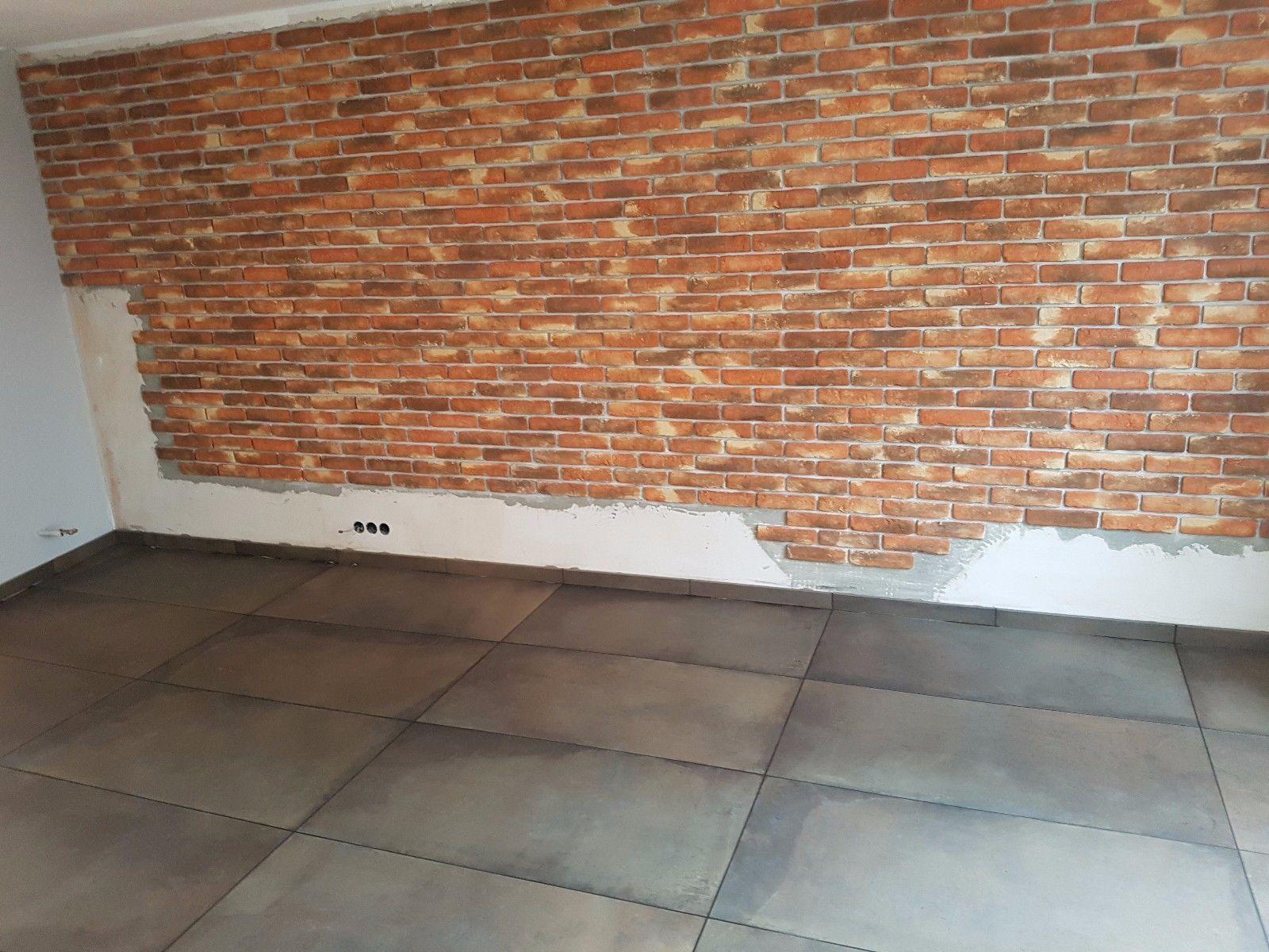 10m²  rustikale  Klinker Riemchen Verblender Ziegel Verblendstein, innen & außen