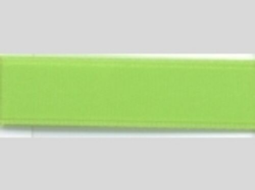 Ruban satin 6 mm vert 5 mètres bande satin